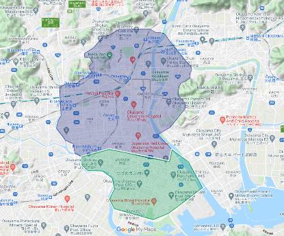 2020 年 10 月 20 日 岡山県:岡山市一部地域 パートナー募集